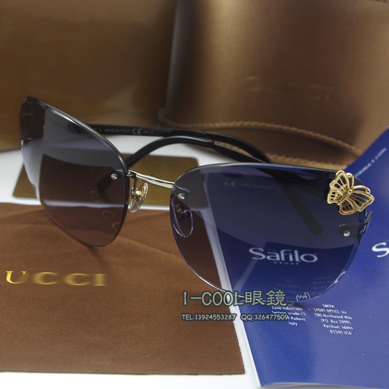 Big Frame Glasses Trend : G 4217s rimless sunglasses the trend of female elegant ...