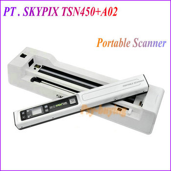 2013 Original Skypix TSN450/A02 1200DPI Portable Hand-held Document/Photo Scanner Rechargable