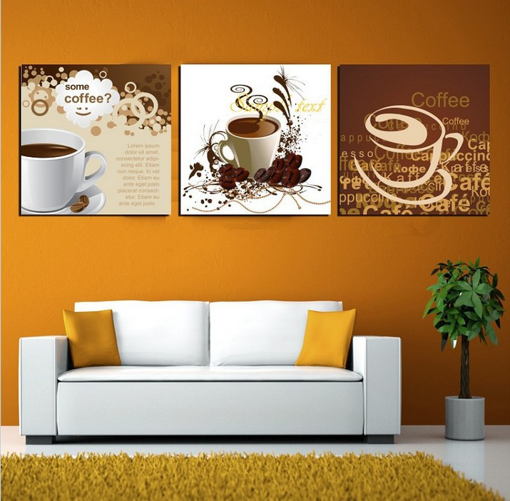 Art deco wall pictures 3 panel canvas art chinese painting for Modern home decor from china