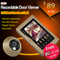 Motion Detection Peephole Digital Door Viewer & Door Eye Viewer