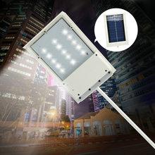 Buy 15 LED Solar Powered Panel LED Street Light Solar Sensor Lighting Outdoor Path Wall Emergency Lamp Security Spot Light Luminaria for $15.55 in AliExpress store