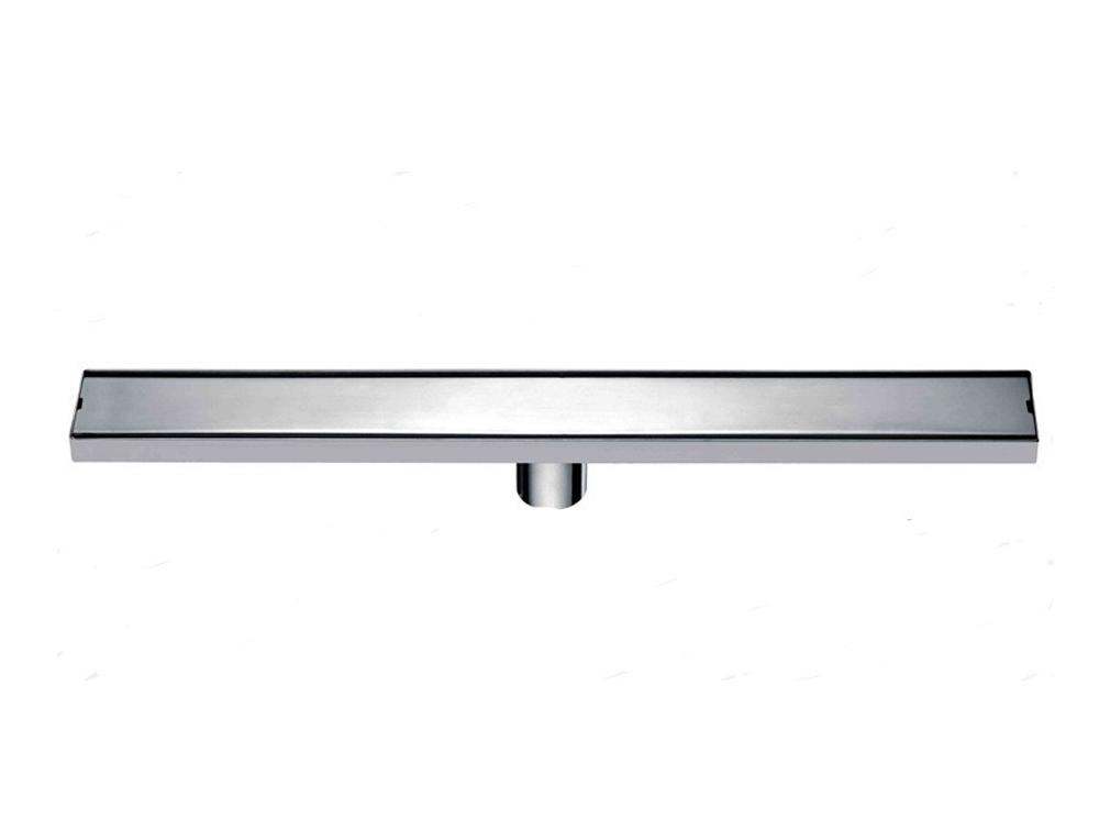 Bathroom Floor Drains Stainless Steel : Cm stainless steel linear shower drain mm