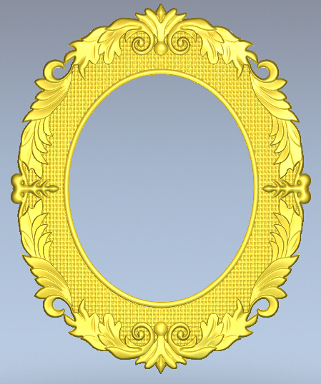 Picture frame 3D stl relief used for cnc rounter artcam aspire 3d models(China (Mainland))