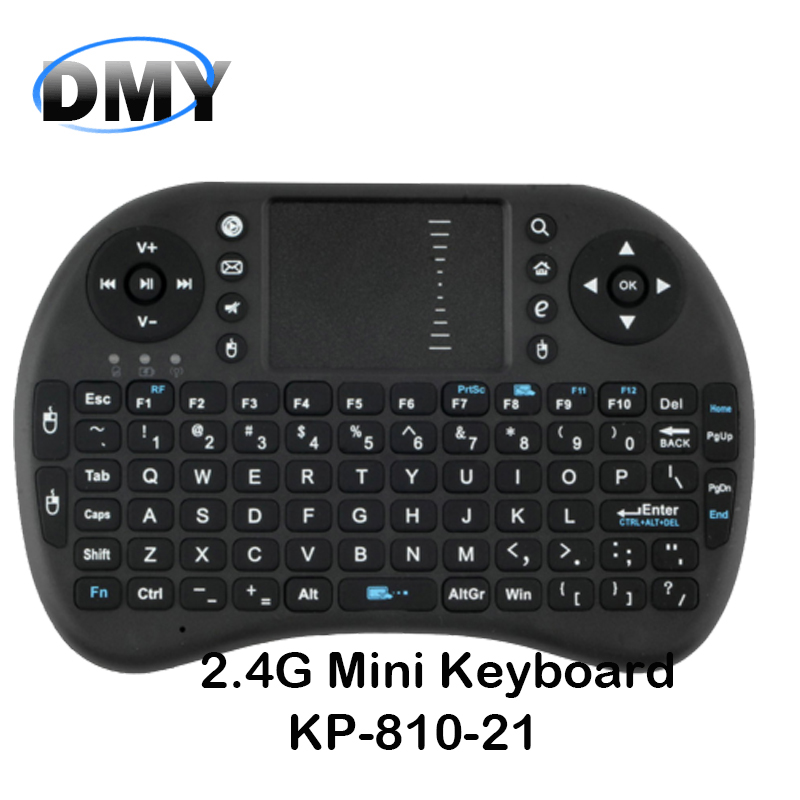 Genuine! Russian Ipazzport KP-810-21 USB Mini wireless Keyboard 2.4G air /fly mouse with Touchpad gaming for TV BOX HTPC/IPTV(China (Mainland))