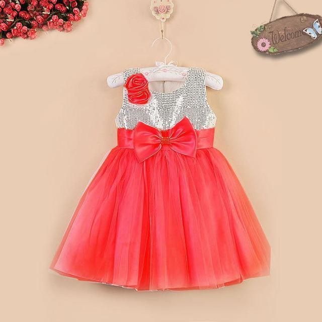 Цветы платья для свадеб с бантом рукавов на фотографиях блестками красный розовое ...