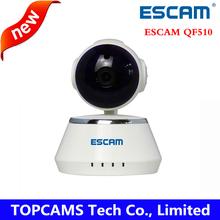 ESCAM Secure Dog 720p wifi camera QF510 Hi3518E IR cut Built-in speakers support PTZ Micro SD onvif alarm wireless ip camera