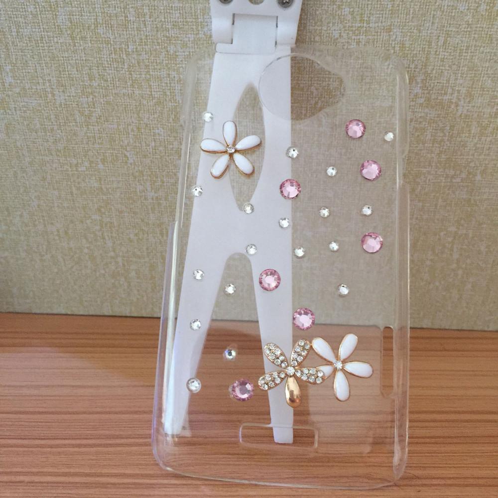 diamond rhinestone case For xiaomi M1 Floral mobile Phones Accessories luxury bling plastic