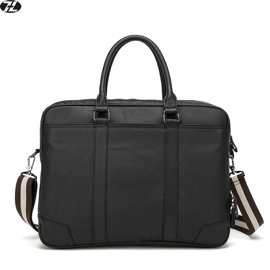 Genuine Leather Men Bags Vintage Cowhide Men Briefcase Bussiness Laptop Man Messenger Bag men shoulder Travel Bags <br><br>Aliexpress