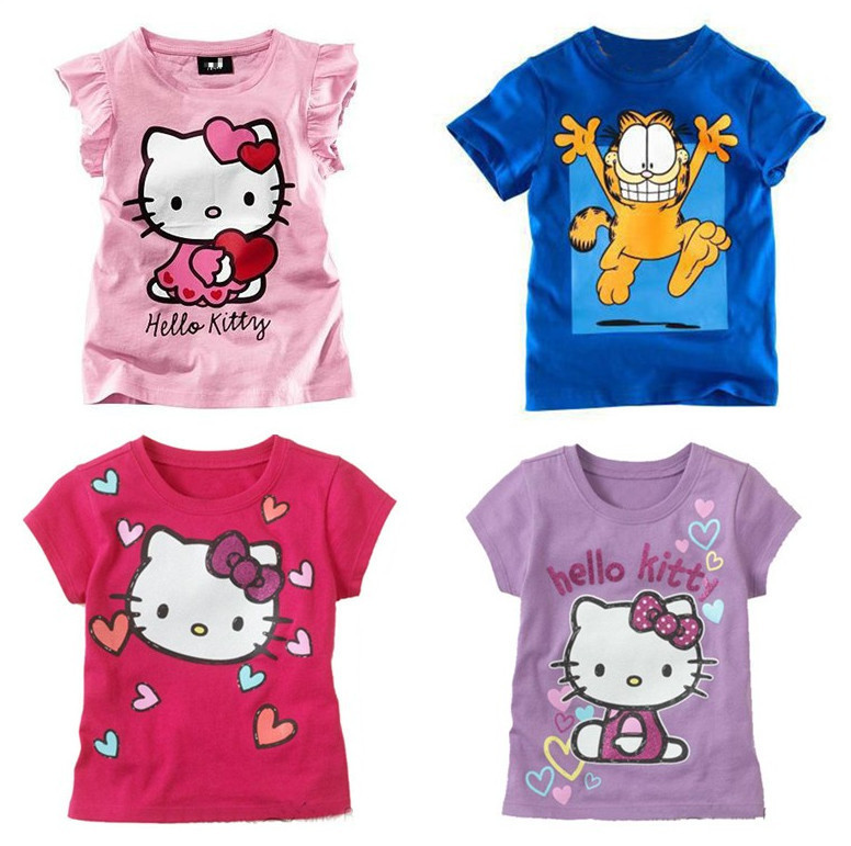 2014 summer children 39 s clothing wholesale short sleeve for Kids t shirts in bulk