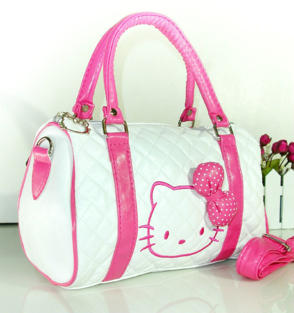 New Hello kitty BAG WITH SHOULDER STRAP PURSE YE-48064P(China (Mainland))