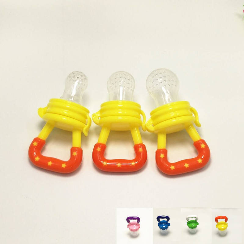 Baby Pacifiers Infant Holding A Pacifier Nibbler Feeder For Fruit Kids Nipple Feeding Holder