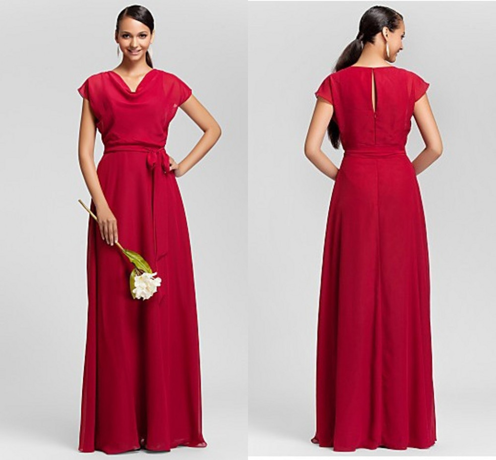 Sheath maid of honor party dress 2015 bridesmaid dresses for Maid of honor wedding dresses