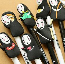 Korea stationery Hayao Miyazaki animation gel pen creative pen cute, cartoon faceless male pens kawaii material escolar canetas