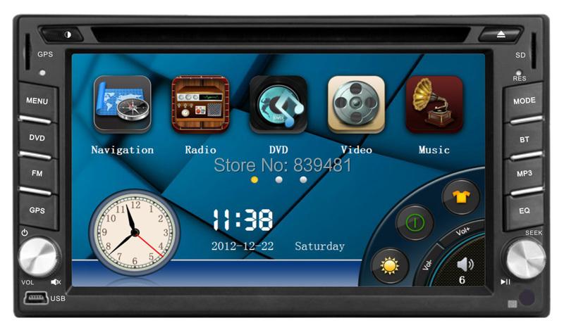 EZONETRONICS Car DVD GPS Navigation 2DIN Car Stereo Radio Car GPS Bluetooth USB/SD Universal Interchangeable Player ZX-T111(China (Mainland))