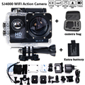 Add Camera Bag and two Battery Sport Action Camera 1080P HD 12MP SJ4000 WIFI extre Sports