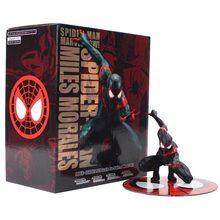Marvel l vingadores spiderman milhas morales marvei ver. Homem aranha figura de ação brinquedo presente artfx + estátua(China)