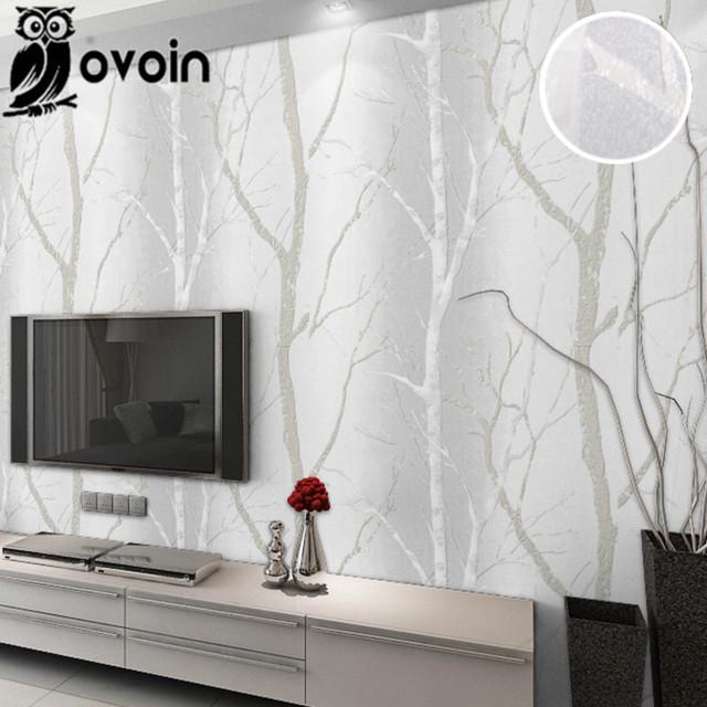 Meer dan 1000 idee n over bos behang op pinterest boom behangpapier muurschilderingen en - Moderne woonkamer behang ...