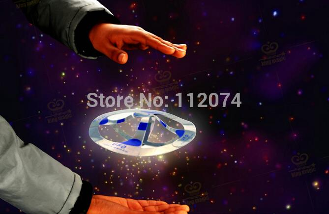 Mystery UFO Floating Flying Saucer Magic Toy Trick, Floats in mid-airi. floating magic, cheap trick<br><br>Aliexpress