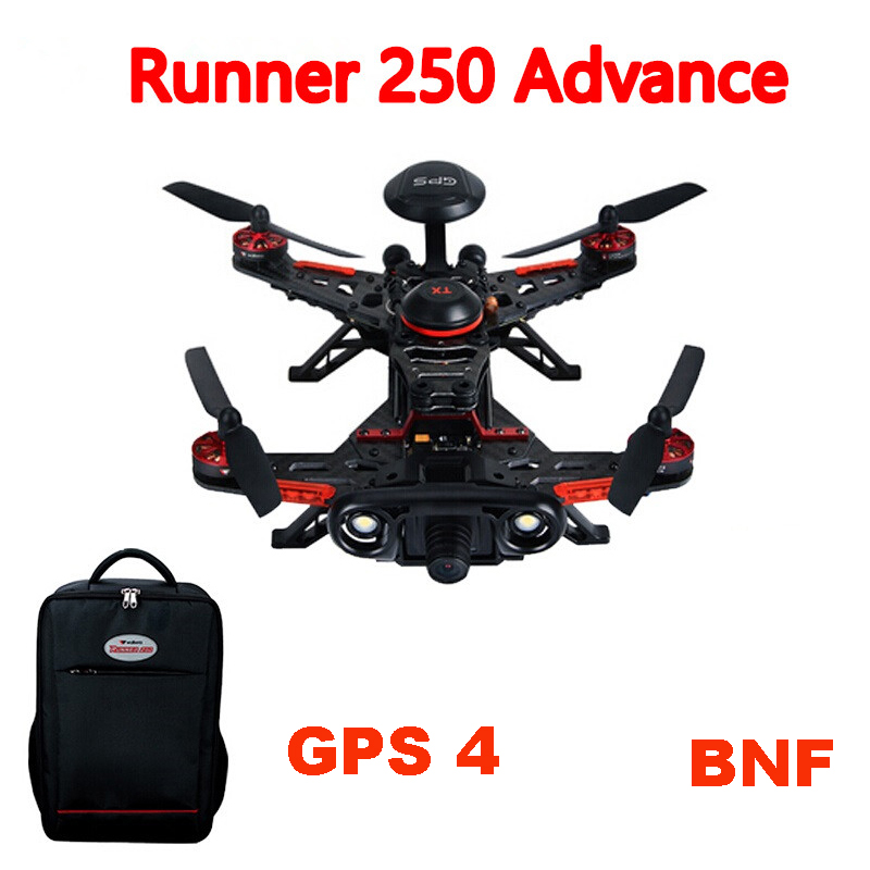 Walkera Runner 250 Advance GPS System RC Drone Quadcopter Without DEVO 7 with OSD /800TVL Camera / backpack  BNF GPS 4 Version
