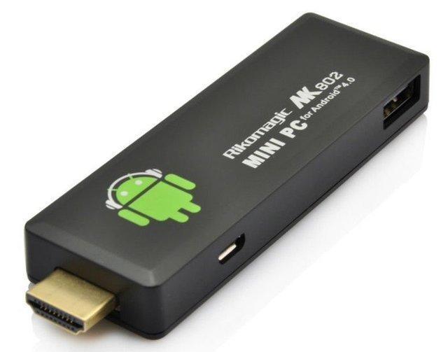 Rikomagic MK802II android 4.0 mini pc - Allwinner A10 hackable device