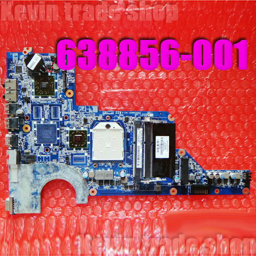 Free Shipping 638856-001 DA0R22MB6D1 REV :D laptop Motherboard For Hp Pavilion G6 G4 G7 series Fully work & 100% Tested(China (Mainland))