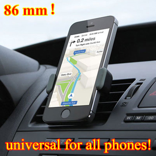 Universal Car Holder Air Vent Mount for Samsung Stand Support For Iphone 6 Plus 5S Phone Holder GPS Movil Suporte Para Celular(China (Mainland))