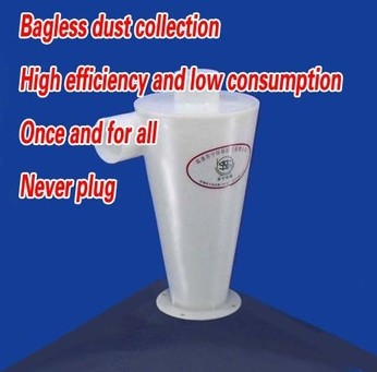 free shipping High quality cyclone dust collector 1pc(China (Mainland))