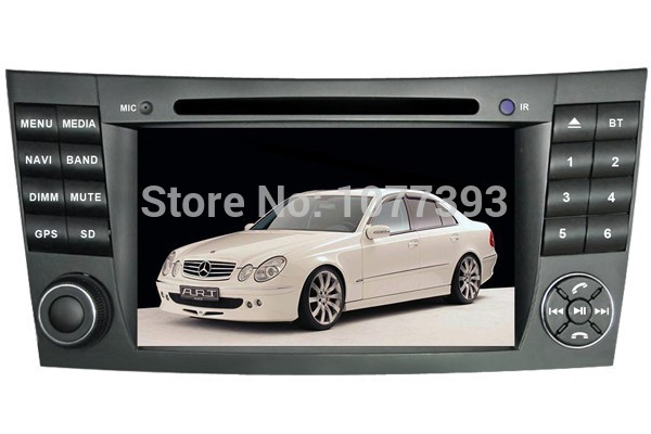 Android 4.0 Auto PC Car DVD Player for Mercedes Benz E Class W211 E200,E220,E240,E270,E280 w/ GPS Nav Radio Bluetooth TV 3G WIFI(China (Mainland))