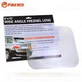 Wide Angle Fresnel Lens Car Parking Reversing Sticker Optical Fresnel Mirror Reverse Helper Useful Enlarge View