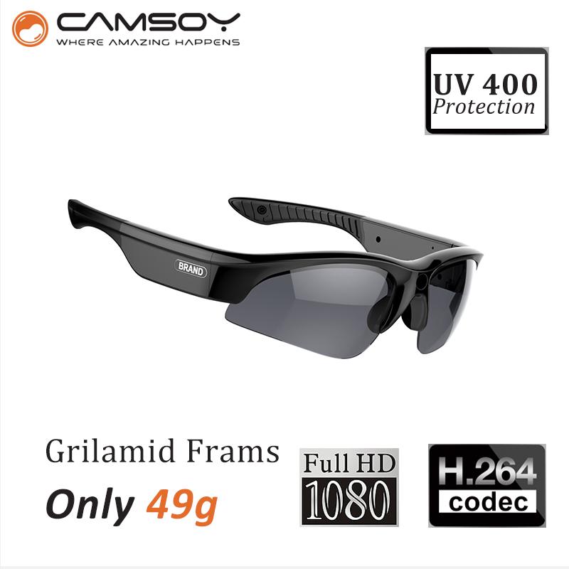 mini camera HD 1080P hidden Sunglasses Camera140 Degree Wide Angle Lens spy Video micro Camera Recorder for Sports Action Video(China (Mainland))