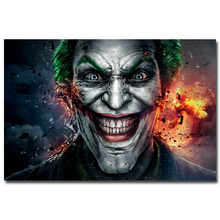 Buy Batman Arkham Joker Art Silk Fabric Poster Print 13x20 24x36 inch Hot Game Picture Living Room Wall Decoration 002 for $4.91 in AliExpress store