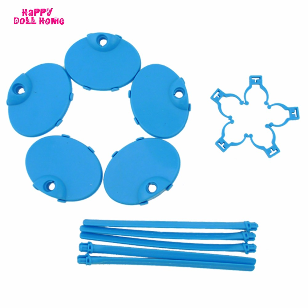 5 x Plastic Doll Stands Mannequin Show Holder Equipment For Barbie Doll 1/6 Puppet Prop Up Dollhouse Assist Toys Present