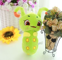 5PCS 2016 new cute candy treasure with money to spend one thousand bone sugar Po doll plush toy doll new spirit worm caterpillar(China (Mainland))