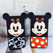 Buy For Samsung 2015 A7 A9 J5 /2016 A5 A7 J3Pro J5 J7 C5/Pro C7/Pro C9Pro On5 On7 3D Cartoon Minnie Mickey Mouse Soft Silicone Cover for $3.96 in AliExpress store