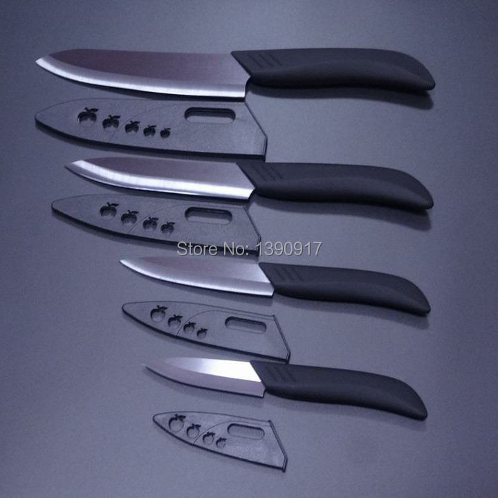 kitchen knives Gift Set 3 inch+4 inch+5 inch+6 inch Ceramic Knife Sets(China (Mainland))