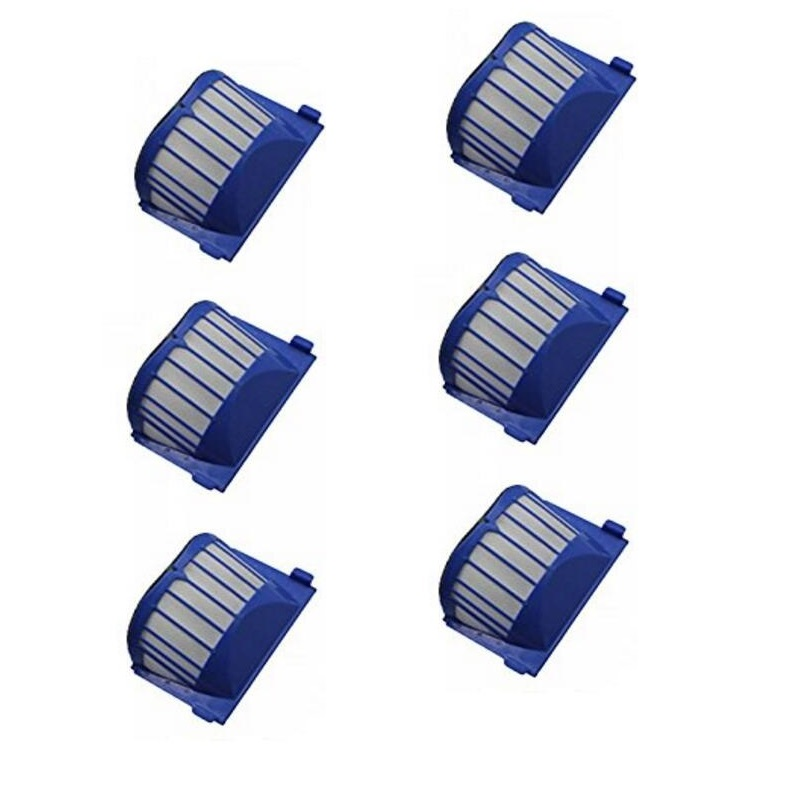 6X Aero Vac Filters for iRobot Roomba 620 630 650 robots with an AeroVac Bin(China (Mainland))