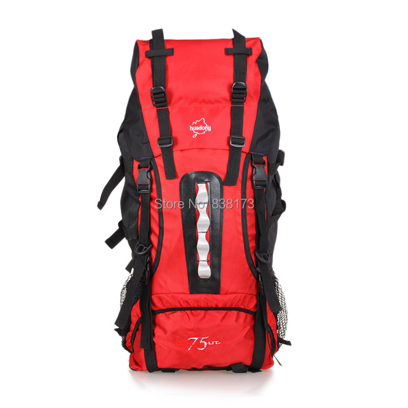 Large capacity outdoor riding travel bag backpack men women,waterproof hiking camping backpacks,Professional bags - ChuanQi Fashion Bag Store store