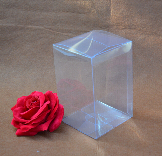 Size:4.5*4.5*7cm, wholesale pvc box , transparent packing boxes , packing pvc clear boxes(China (Mainland))
