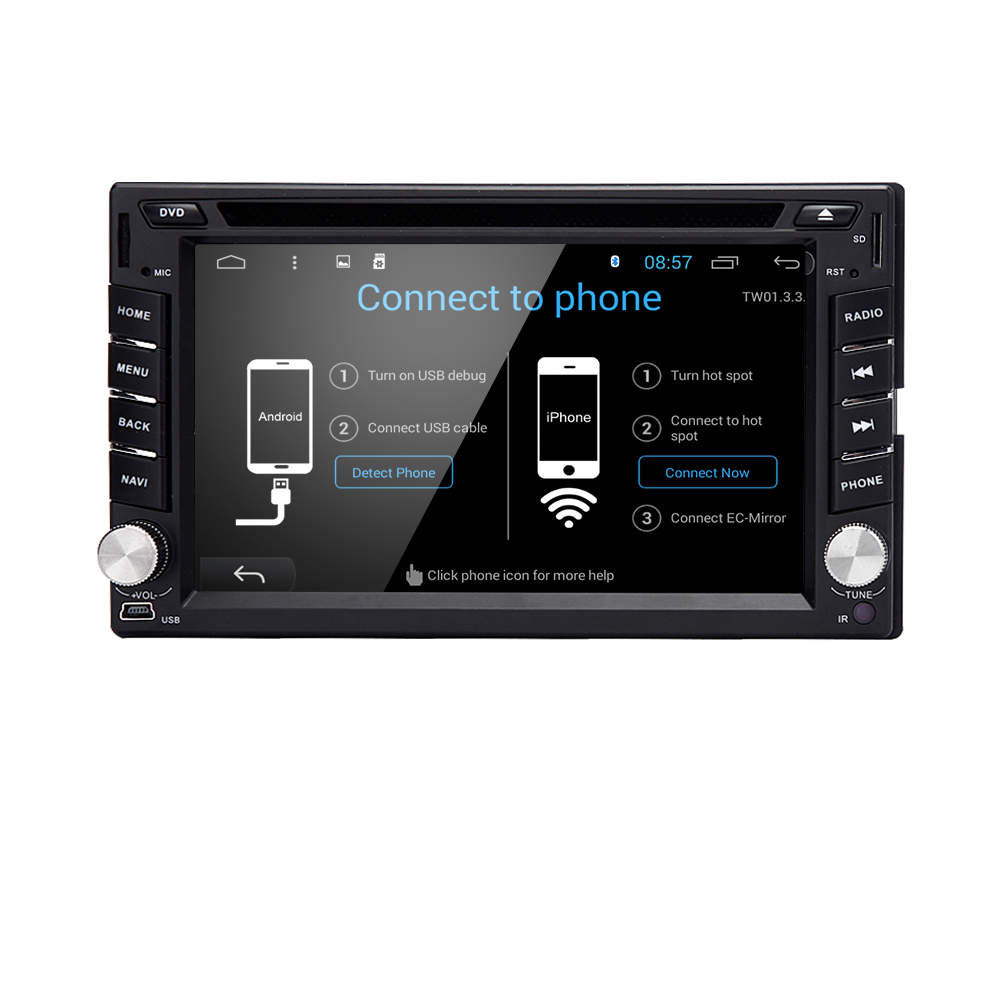 Universal 2-DIN 6.2 Inch Android Car Video DVD Player Double Din Car DVD Bluetooth FM Wifi 3G GPS Car DVD Player GPS Navigation(China (Mainland))