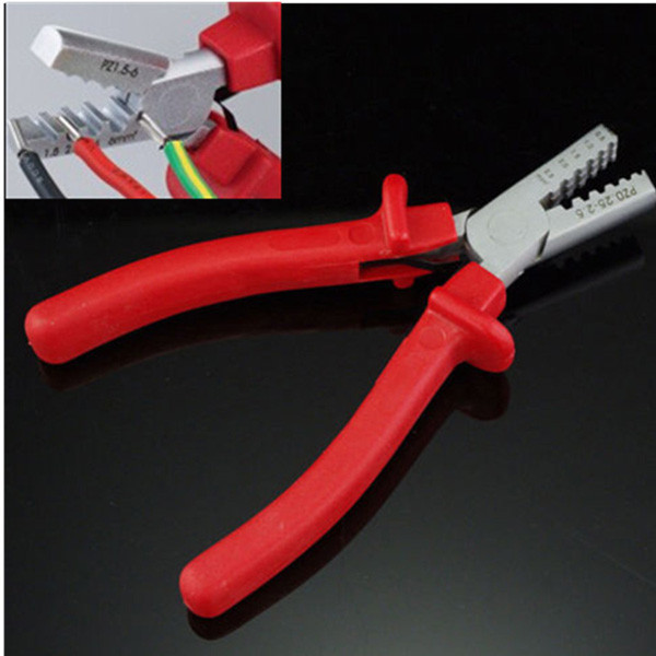 PZ 0.25-2.5 Mini Small Cable End-Sleeves Ferrules Crimping Crimper Plier(China (Mainland))