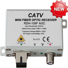 FTTH fiber optic receiver for HFC system and Ultra low noise technology(China (Mainland))
