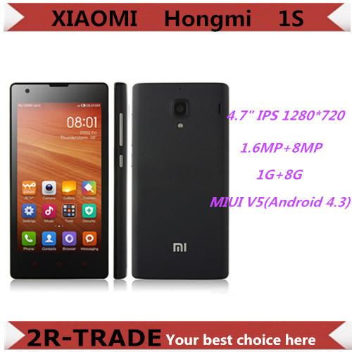 buy xiaomi redmi 1s qual m quad core 1 6ghz 4 7 inch