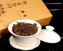 puer Popular Chinses Healthcare tea Golden Days Compressed puer tea Brick Exquisite Soft Fragrance Organic puerh