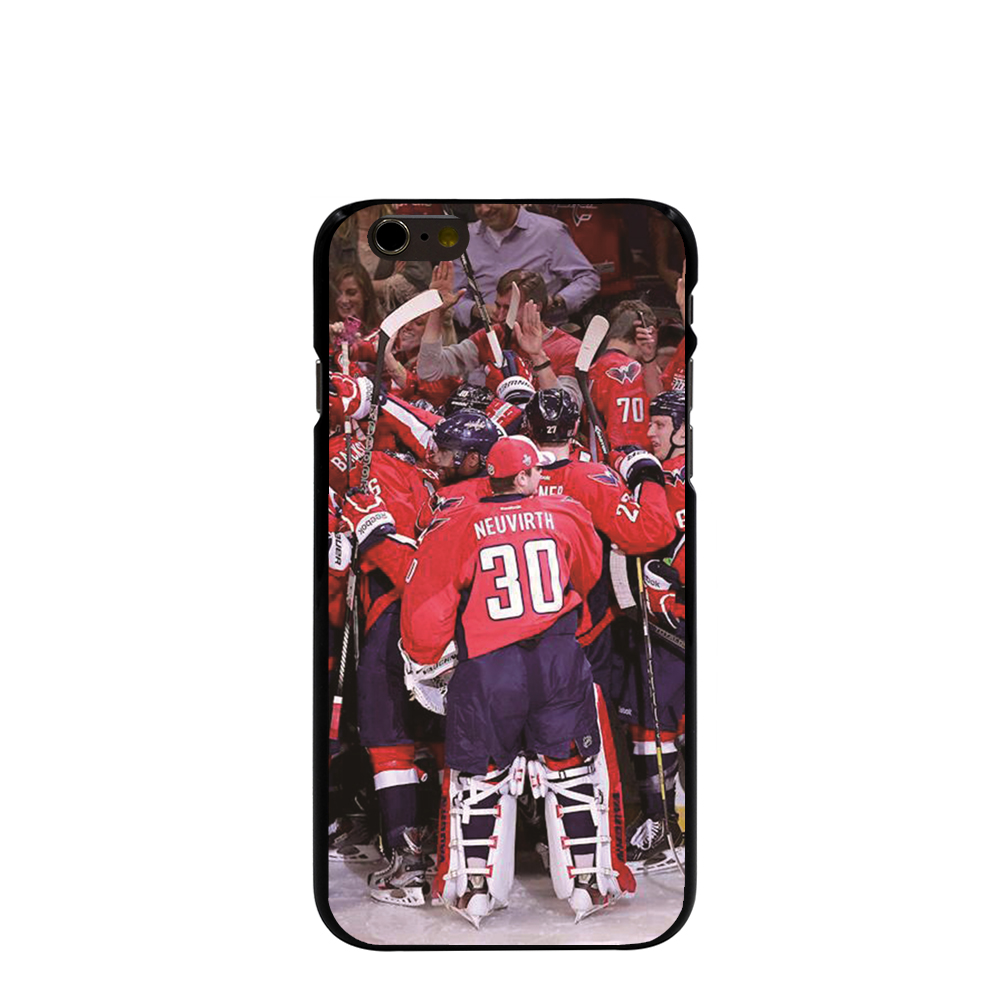 07983 Washington Capitals Hard black Cover cell phone Case for iPhone 4 4S 5 5S 5C 6 6S Plus 6SPlus(China (Mainland))