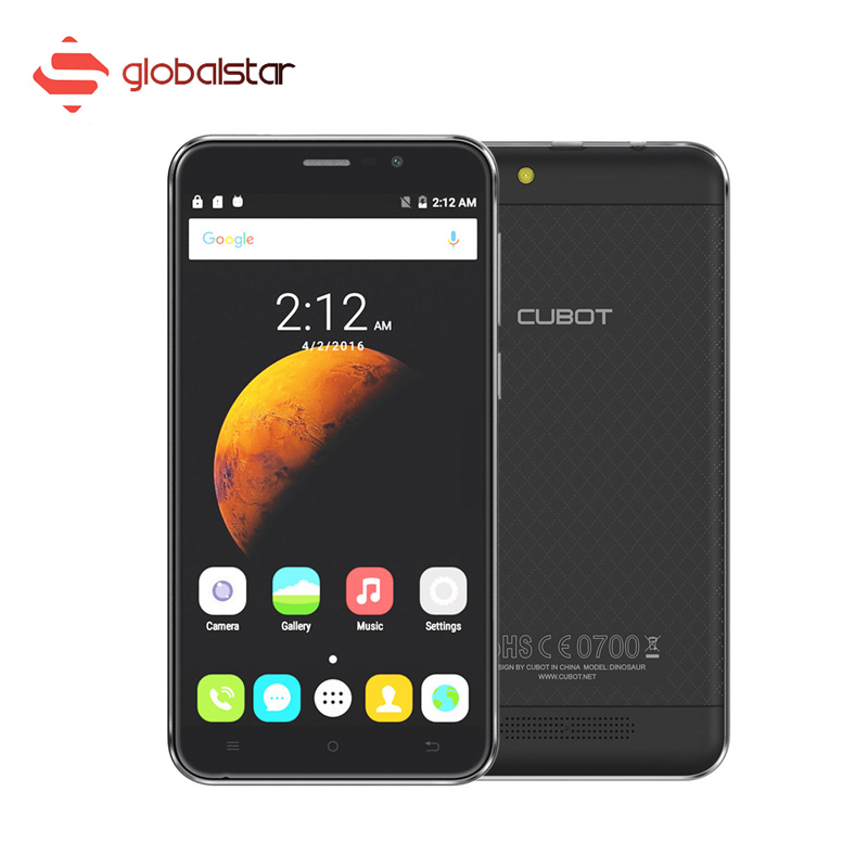 CUBOT DINOSAUR 5.5 Inch Android 6.0 Smartphone MTK6735A Quad Core 4G Mobile phone 3GB RAM 16GB ROM 4150mAh 13MP 720P Cellphone