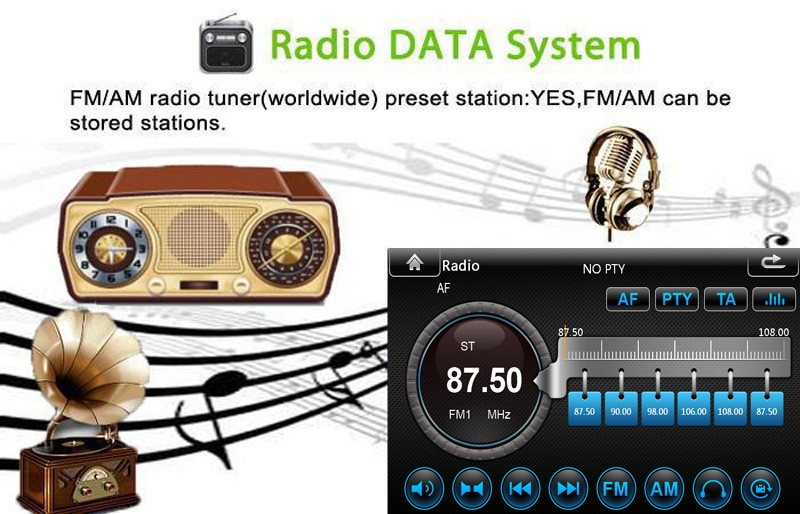 """Free Shipping 7"""" HD Full Touch Screen Car Auto radio DVD GPS system for Opel Corsa Astra Zafira Vectra Meriva in Black Color"""