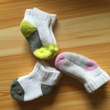 2015 NEW Newborn Baby socks for Warm soft Infant Winter socks & Color random(China (Mainland))