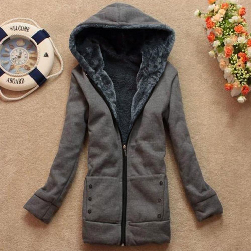 """Women""""s long sweatshirt coat - The best jackets and coats of your ..."""