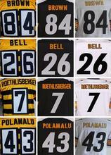 7 Ben Roethlisberger 43 Troy Polamalu 50 Ryan Shazier 84 Antonio Brown 36 Jerome Bettis 26 Le'Veon Bell(China (Mainland))