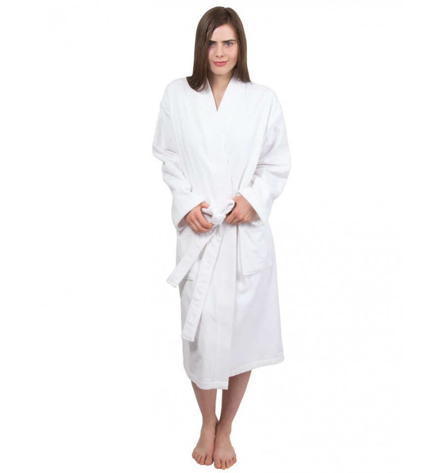 Look stylish while relaxing in a women's robe. Women's robes provide year-round comfort in a variety of cute styles. While a traditional terry cloth robe is a great choice for drying off after a shower, Sears carries many designs that you can enjoy any time of day.